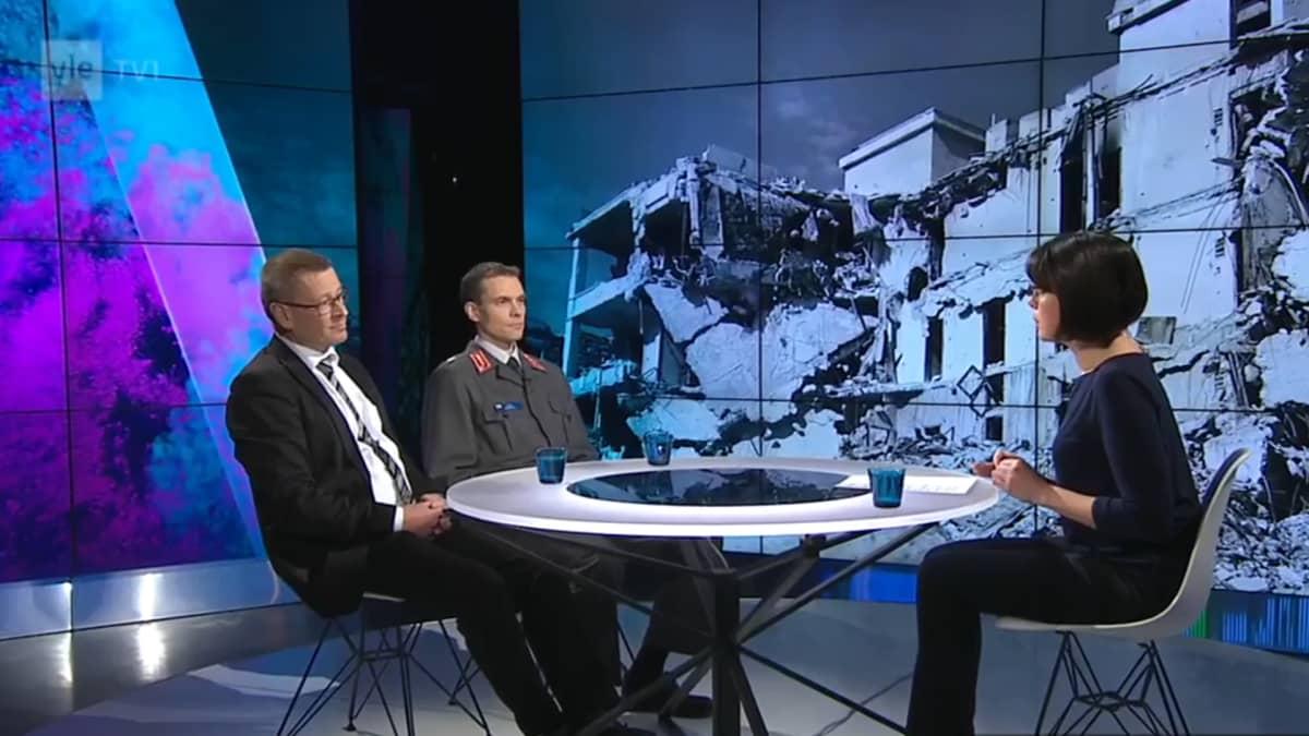 Hannu Juusola ja Juha Kukkola.