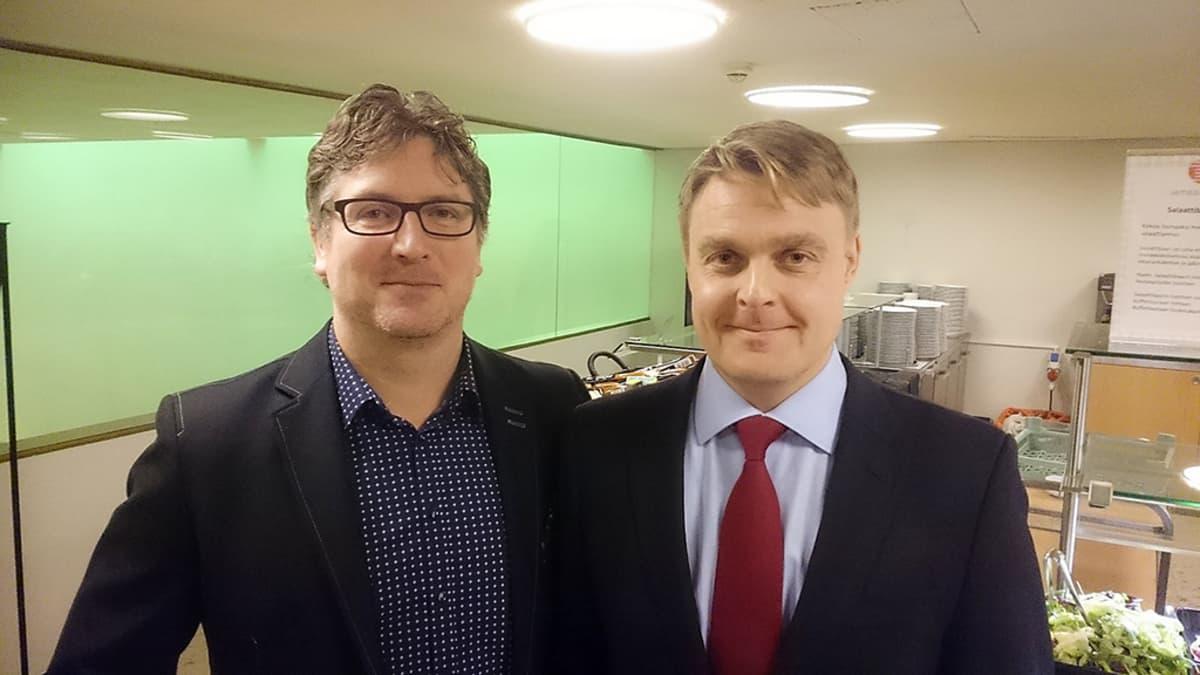 Tomi Sevander ja Osku Pajamäki