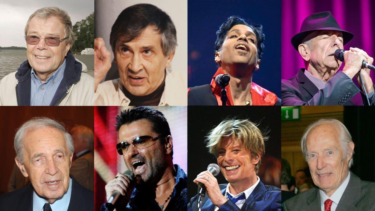Vuonna 2016 menehtyneitä artisteja.