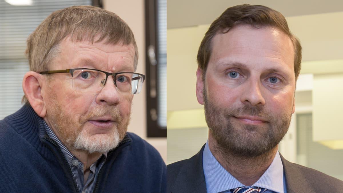 Vasemmalta: Markku Hirvonen ja Janne Juusela