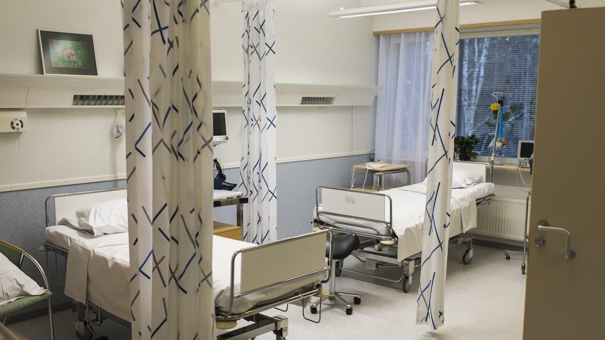 Malmin sairaalan kipupoliklinikka.