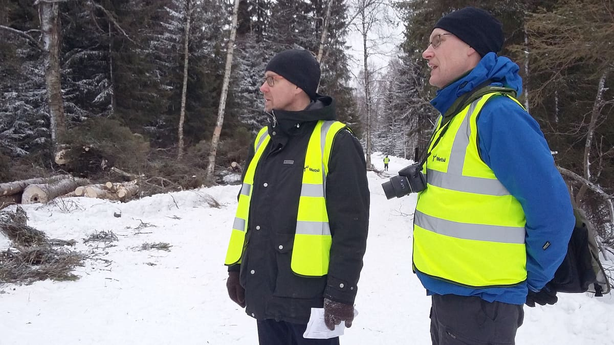 Jarkko Parpala ja Tuomo Karplund.