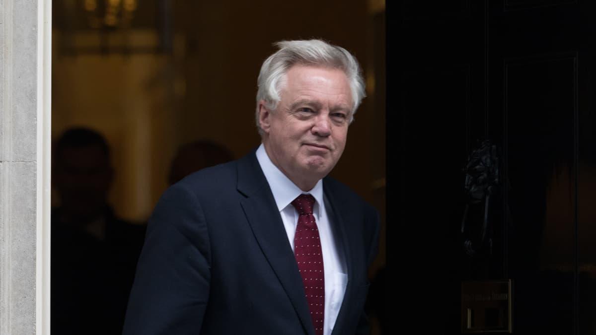 Britannian EU-erosta vastaava ministeri David Davis