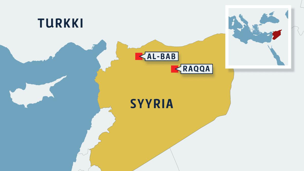 Syyrian kartta.