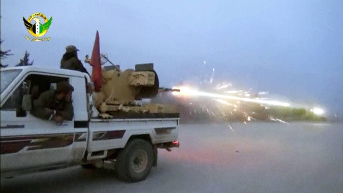 Reutersin välittämää kuvaa Pohjois-Syyrian al-Babista.