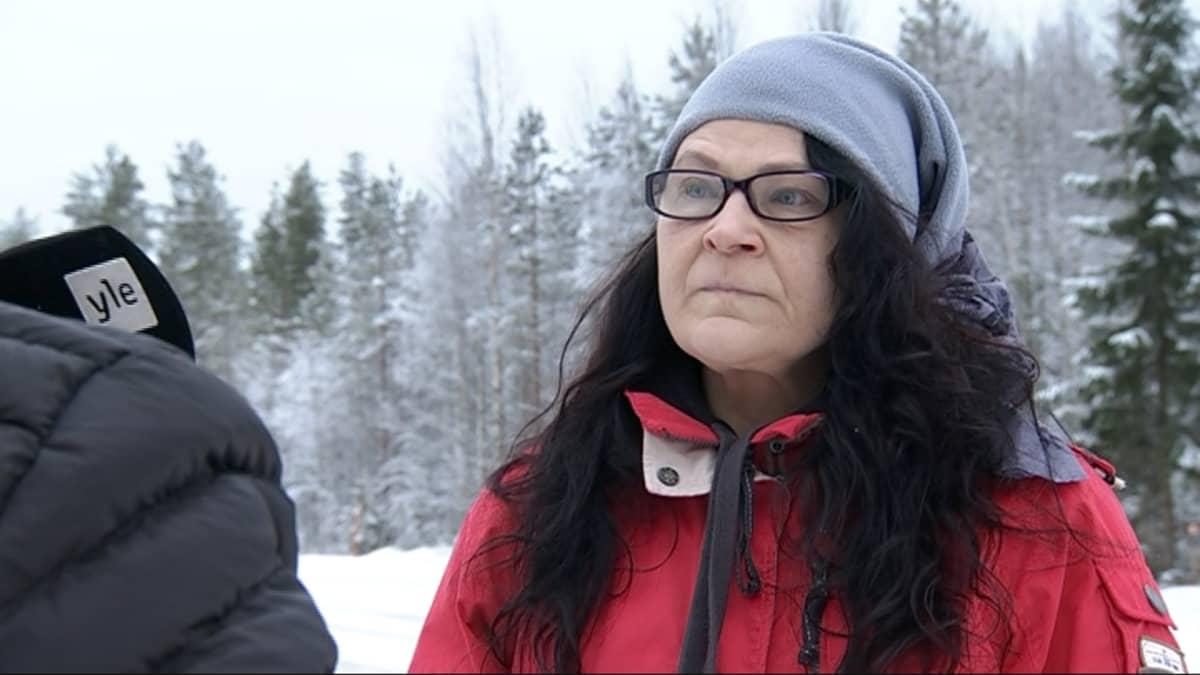 Irmeli Karjalainen Kannonkoskelta.