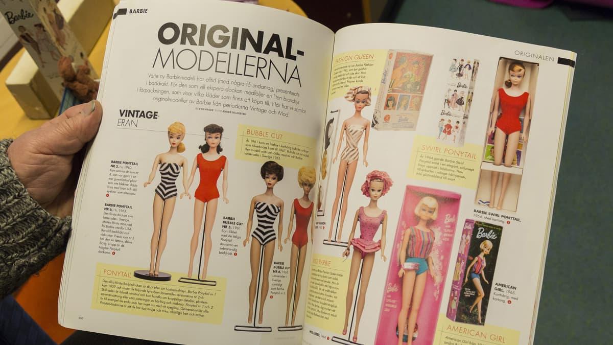 Kirja Barbie-nuken historiasta