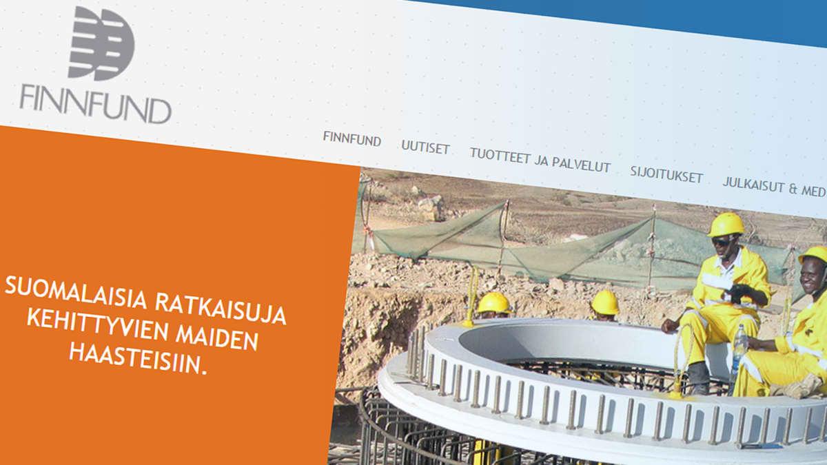 Finnfund nettisivu