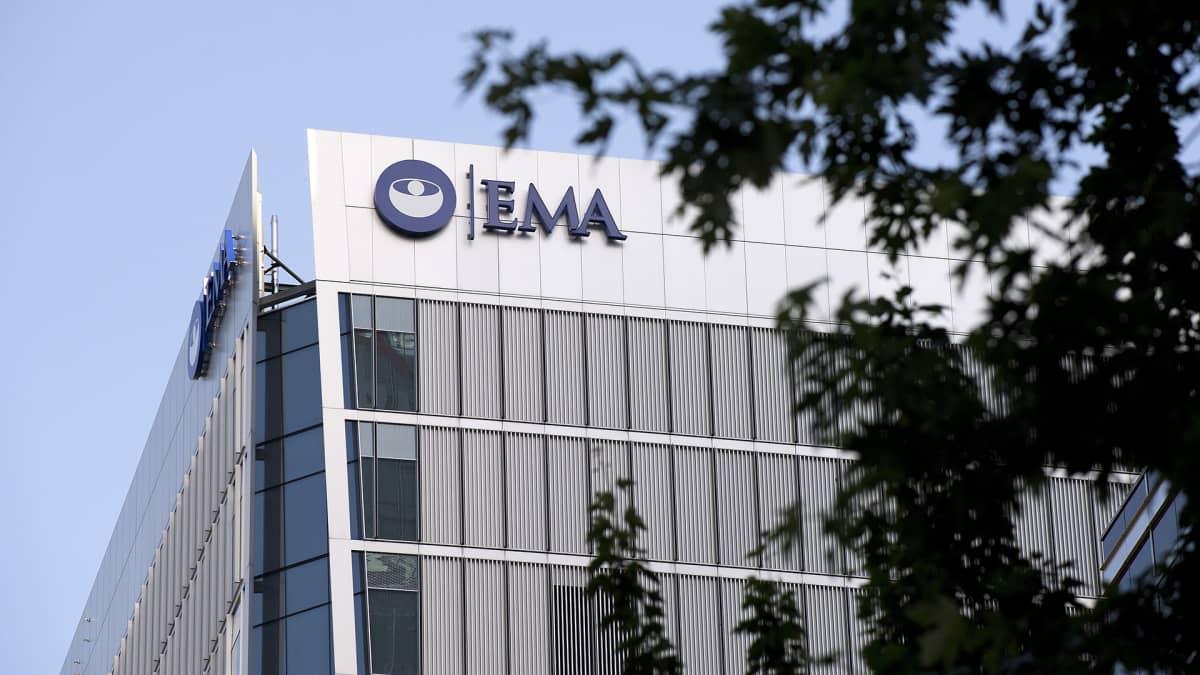 Euroopan lääkeviraston EMA:n pääkonttori.