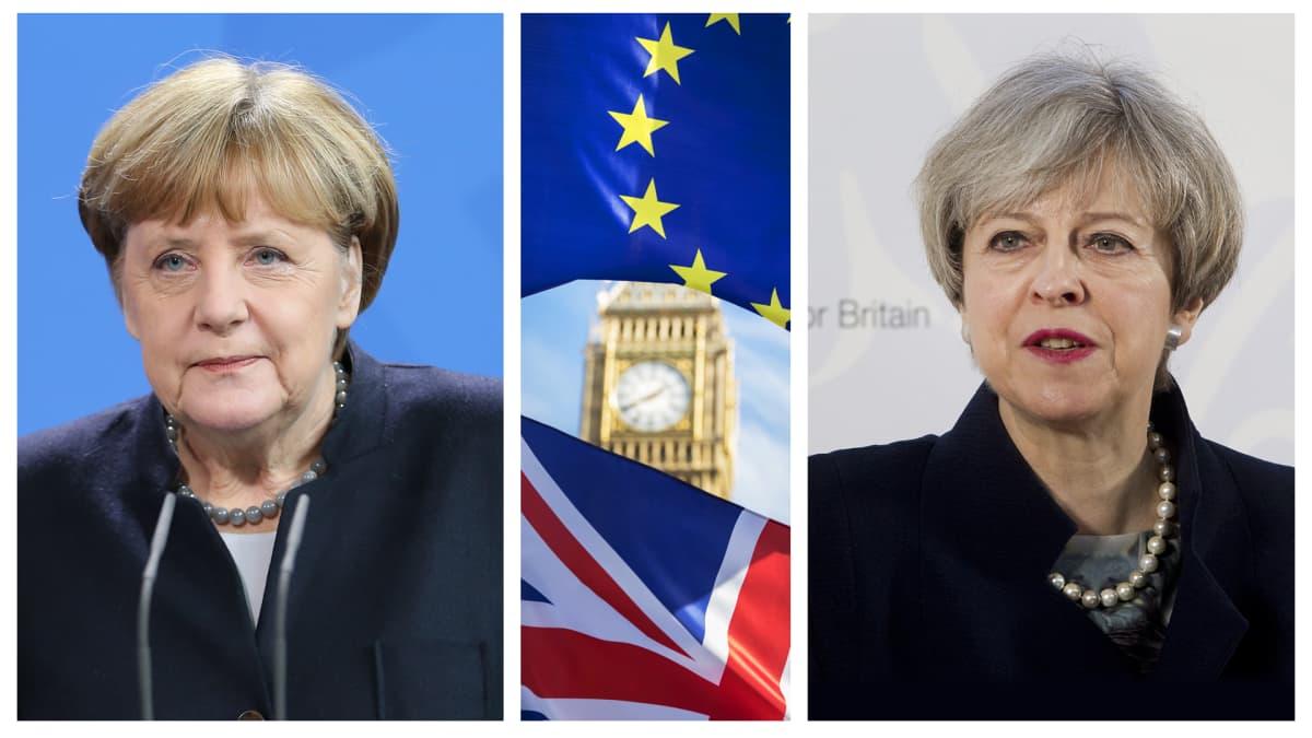 Angela Merkel, Big Ben ja Theresa May