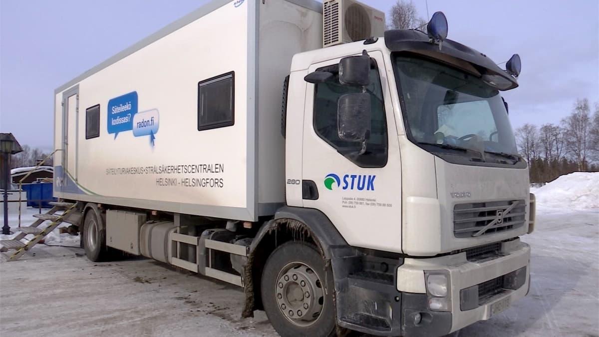 STUK:n säteilymittausauto
