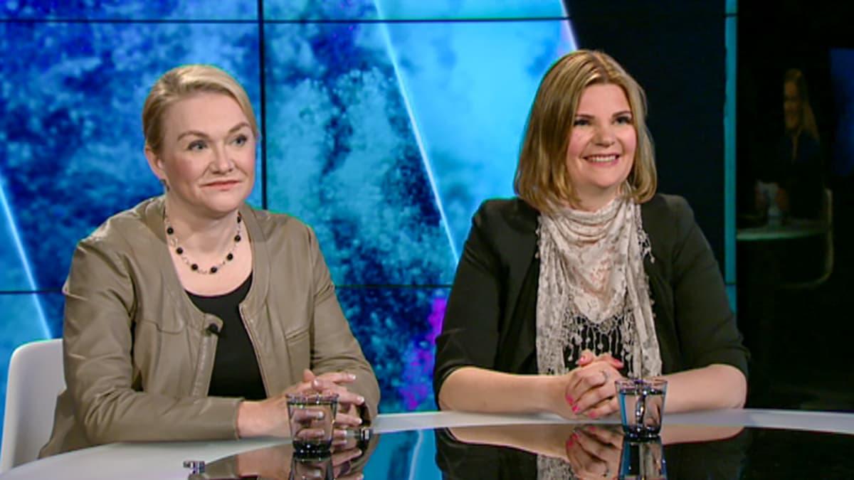 Annika Forsander ja  Iwona Van Dingen