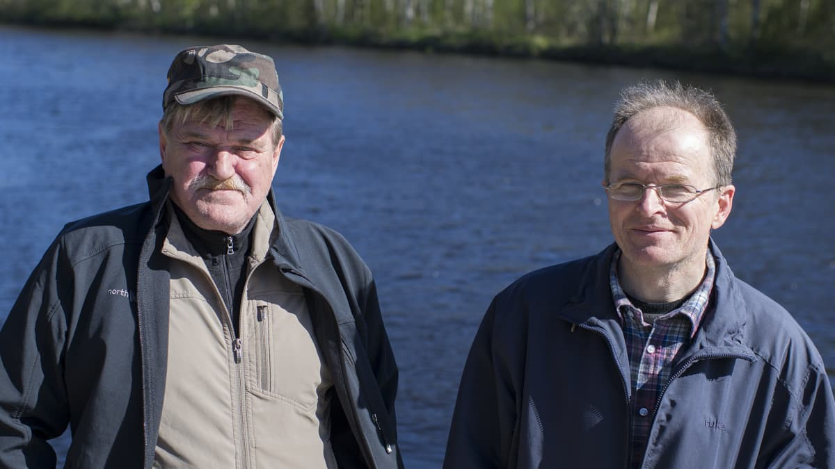 Håkan Bystedt ja Dan Vikström.