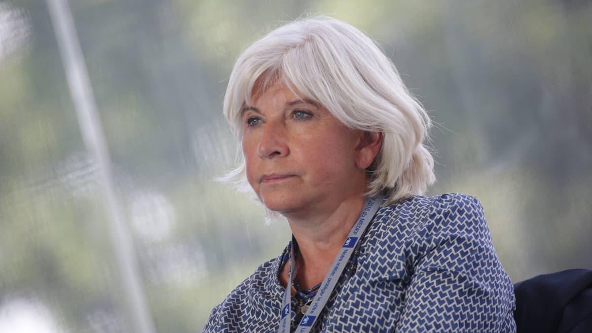 Ympäristöjärjestö European Climate Foundationin toimitusjohtaja Laurence Tubiana