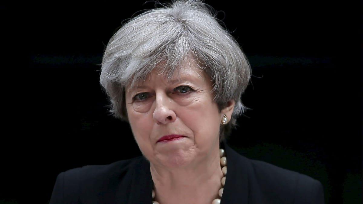 Britannian pääministeri Teresa May