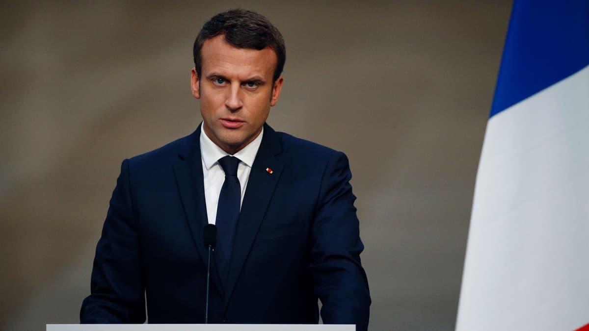 Ranskan presidentti Emmanuel Macron