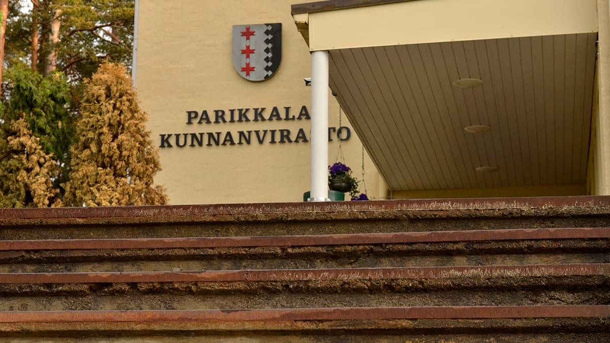 Parikkalan Harjulinnassa sijaitsee kunnanvirasto