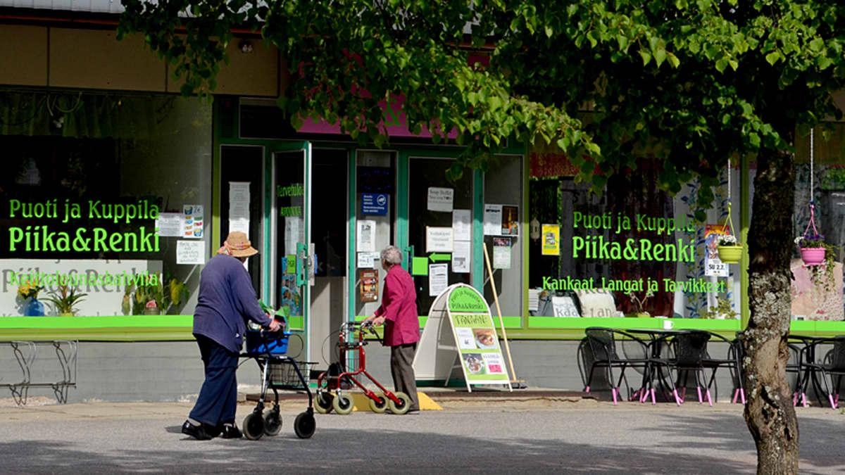 Puoti ja Kuppila Piika&Renki sijaitsee Parikkalan keskustassa.