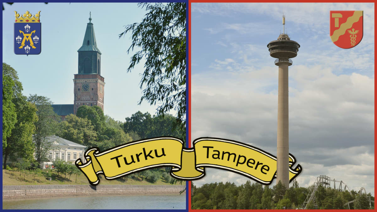 Turku-Tampere postikortti