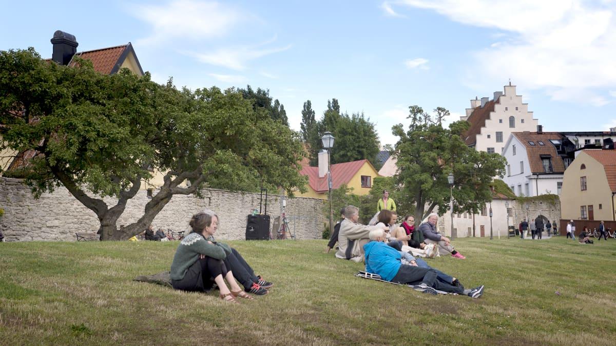Almedalenin politiikkaviikko järjestetään Visbyssä.