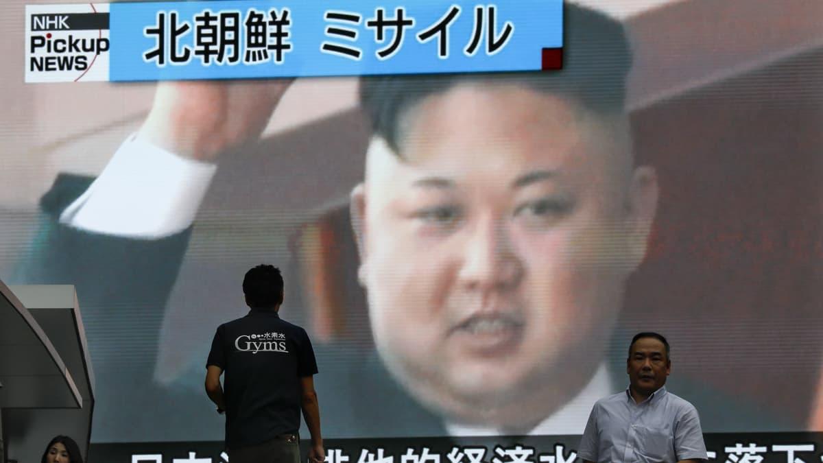 Pohjois-Korean johtaja Kim Jong-un on pönkittänyt valtaansa ydin- ja ohjuskokeilla.