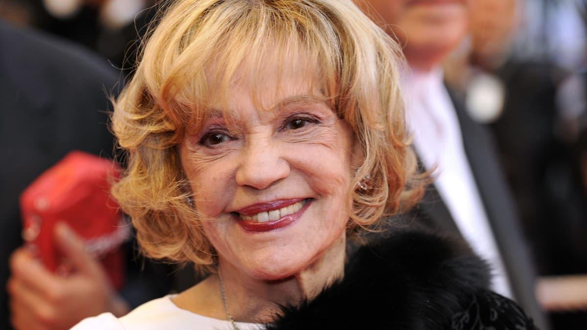 Jeanne Moreau kuvattuna vuonna 2008.