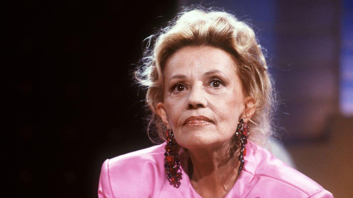 Jeanne Moreau kuvattuna vuonna 1987.