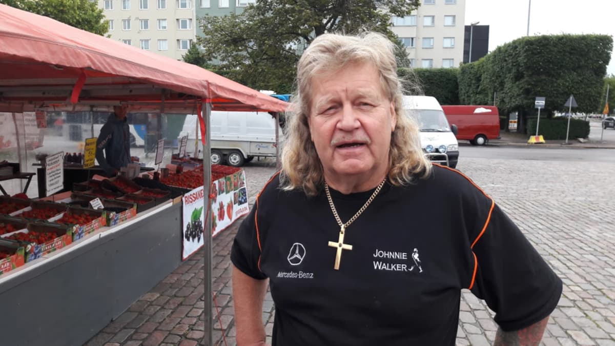 Torimyyjä Matti Rissanen