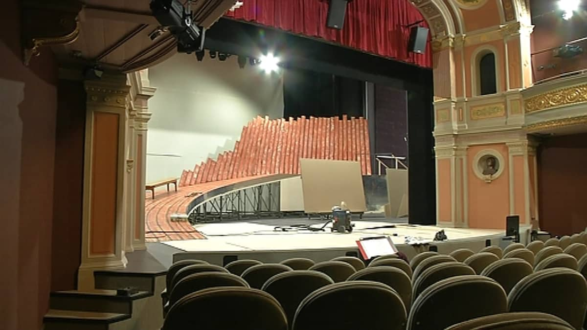 Porin teatteri näyttämö katsomo