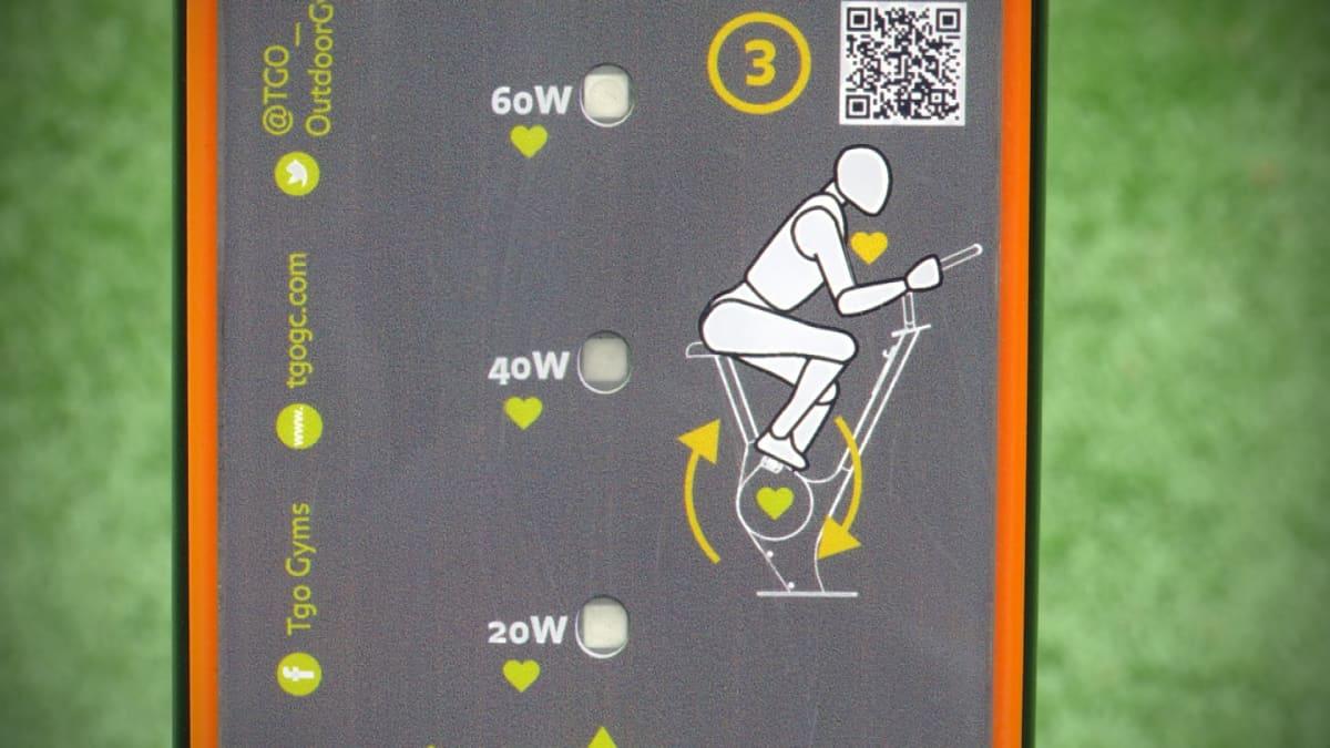 Lapuan sähköä tuottavat kuntopyörät