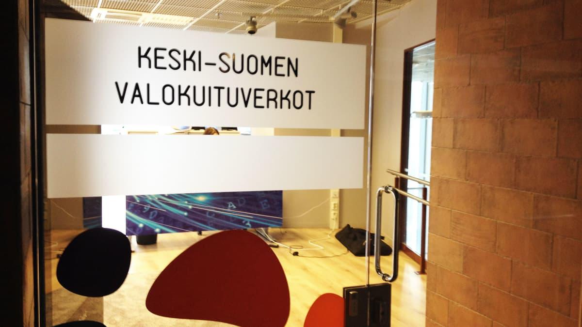 Keski-Suomen Valokuituverkot.