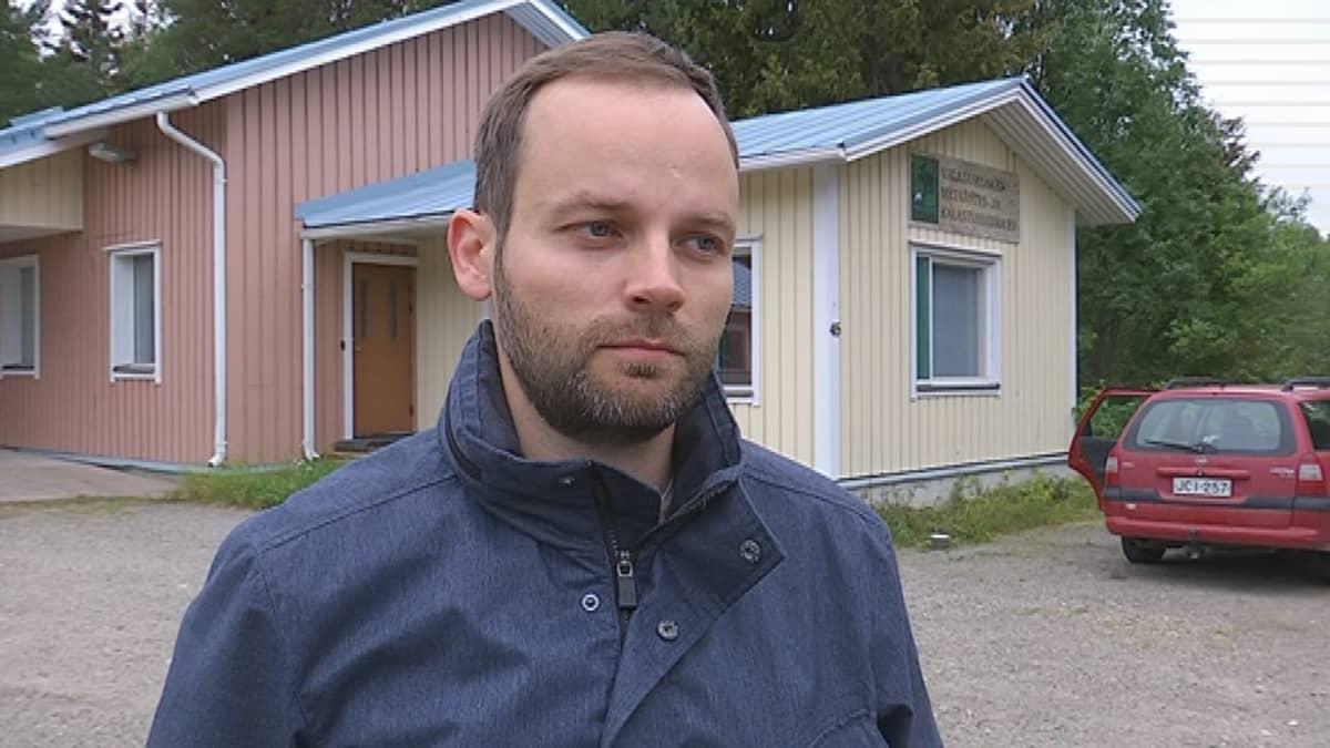 Rovaniemen Rautiosaaren kyläverkko-osuuskunnan puheenjohtaja Antti Haukipuro.