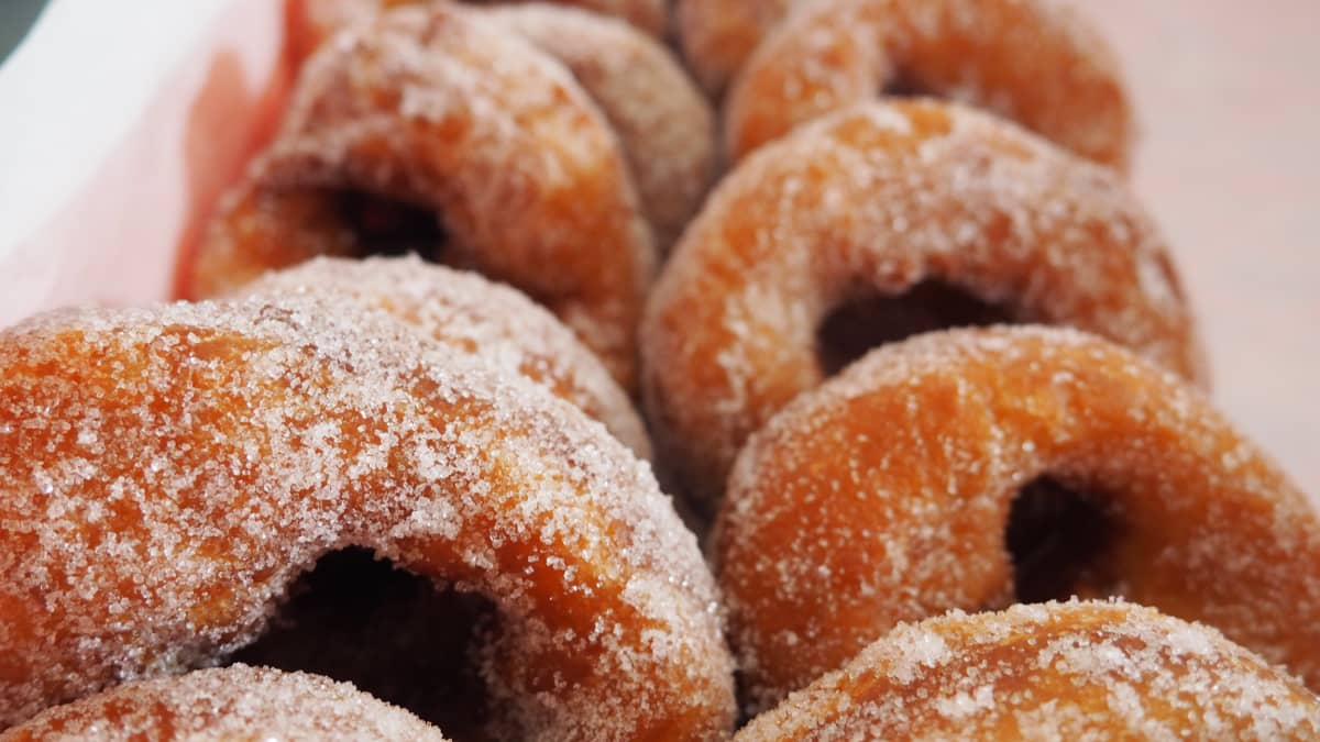 Valmiita sokerimunkkeja.
