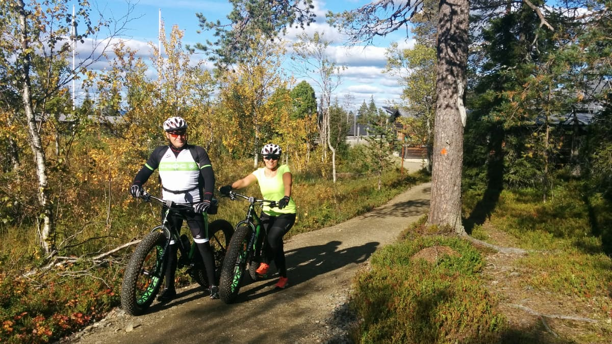 Kansallispuistojen järjestyssääntöjen muutokset vapauttivat paljon uusia reittejä pyöräilylle.