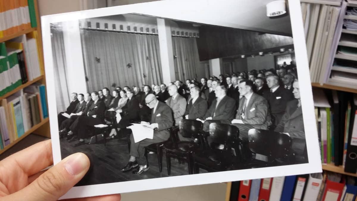 Valokuva Savonlinnan opettajakoulutuslaitoksen historiasta