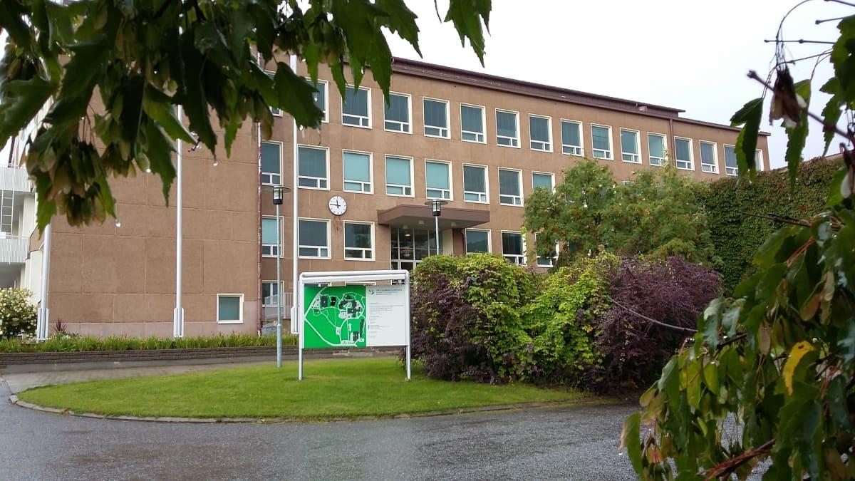 Itä-Suomen yliopiston kampus Savonlinnassa.