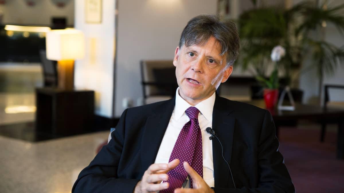 Terrestrial Energy -yhtiön hallintojohtaja Louis Plowden-Wardlaw.