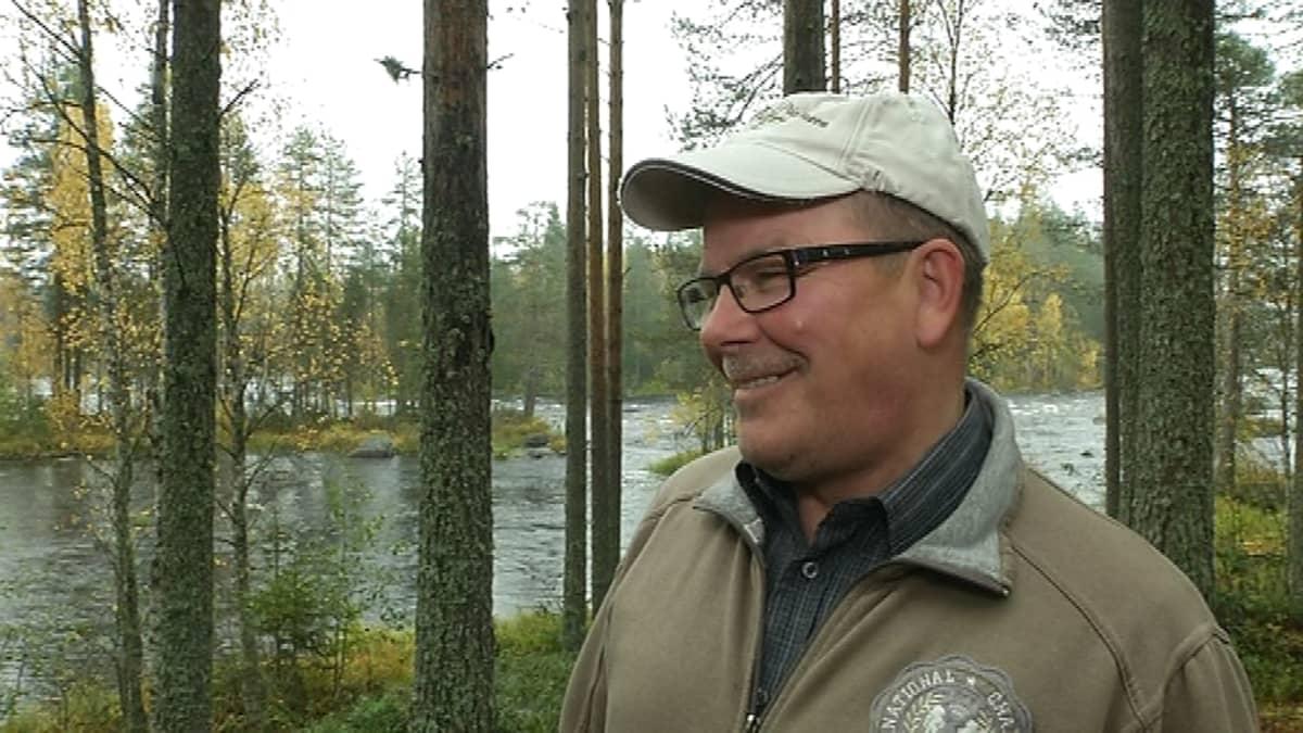 Pielisen ja Ruunaan kalastusalueiden puheenjohtaja Jukka Turunen on puhunut järvilohen puolesta jo yli 30 vuotta.