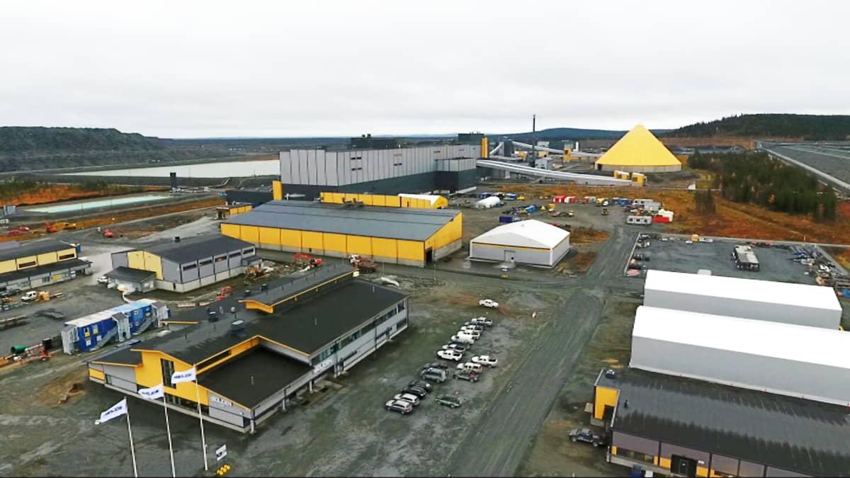 Boliden Kevitsan kaivos Sodankylässä 2.10.2017