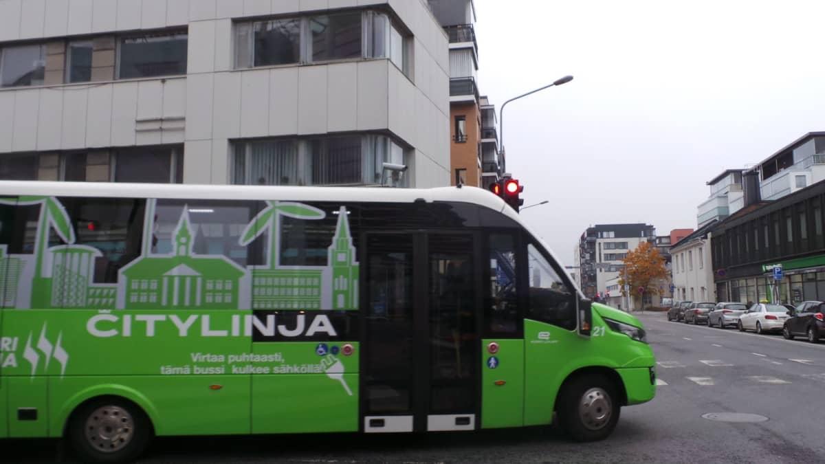 Citylinjan bussi