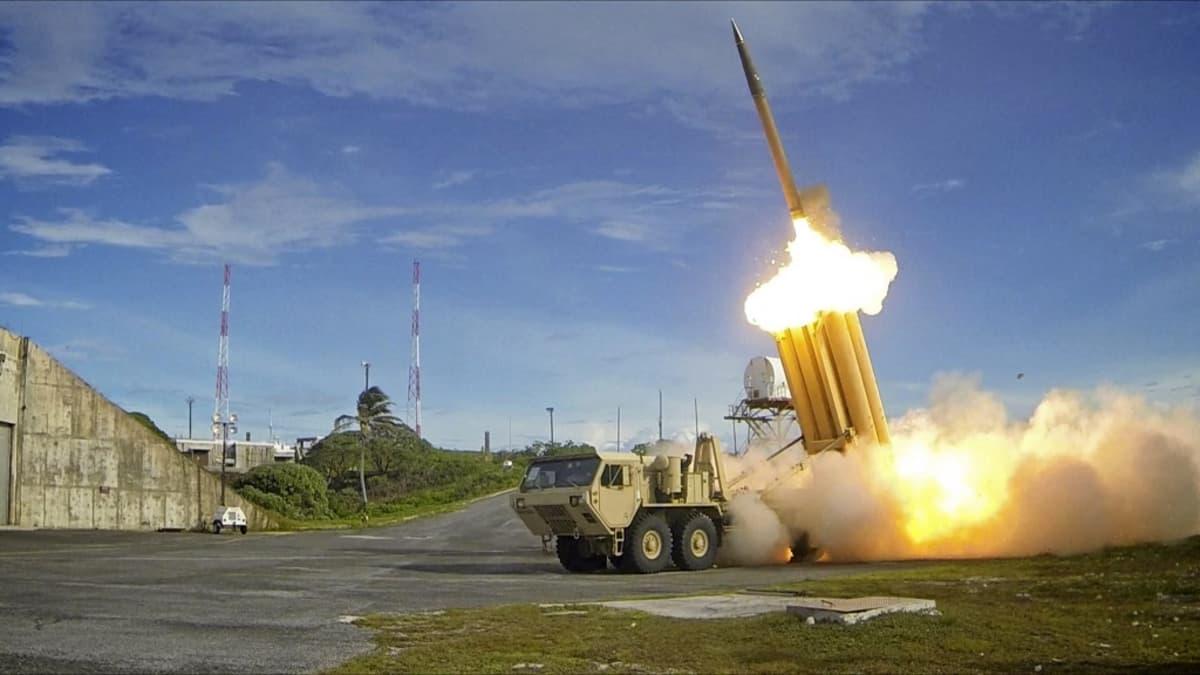 THAAD-ohjusjärjestelmää testattiin Yhdysvalloissa 2013.