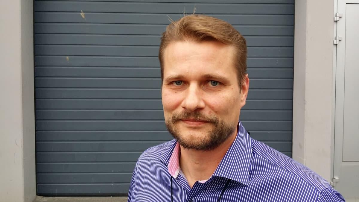 Speysin toimitusjohtaja Jouko Sipilä.
