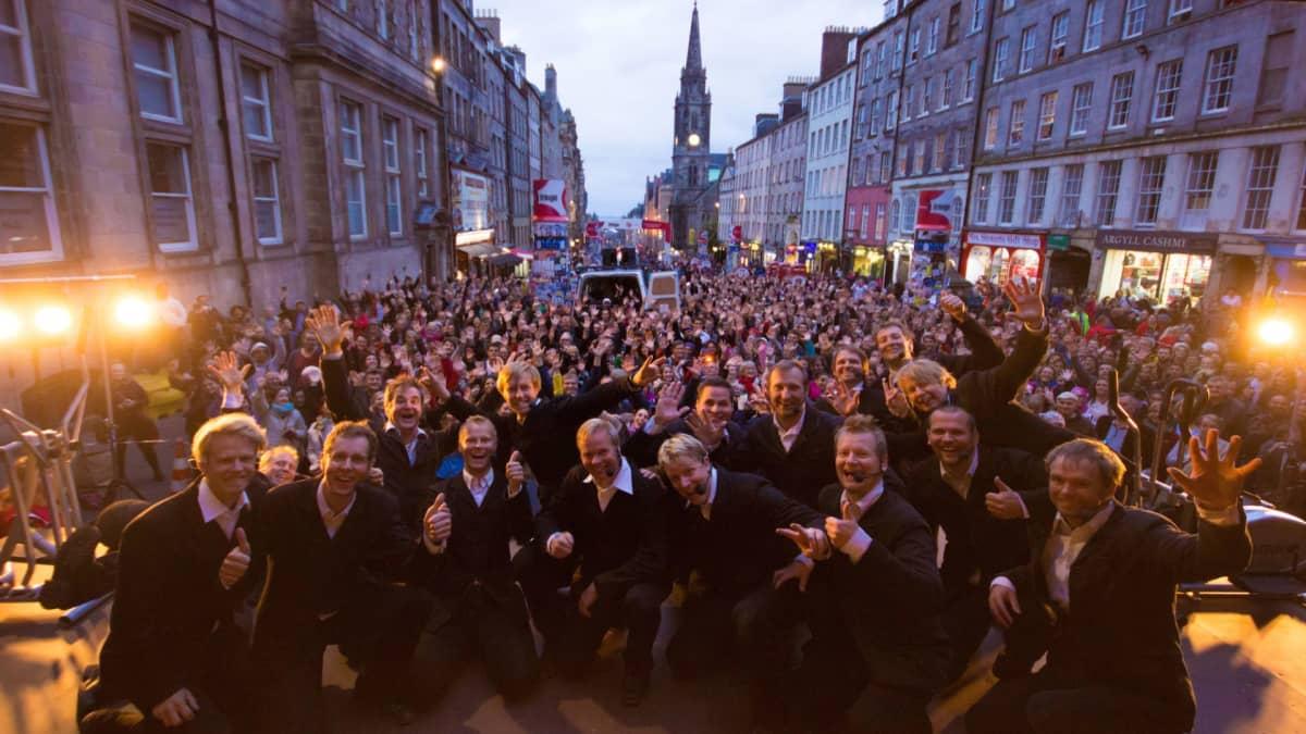 Semmarit Fringe-festivaaleilla Edinburghissa.