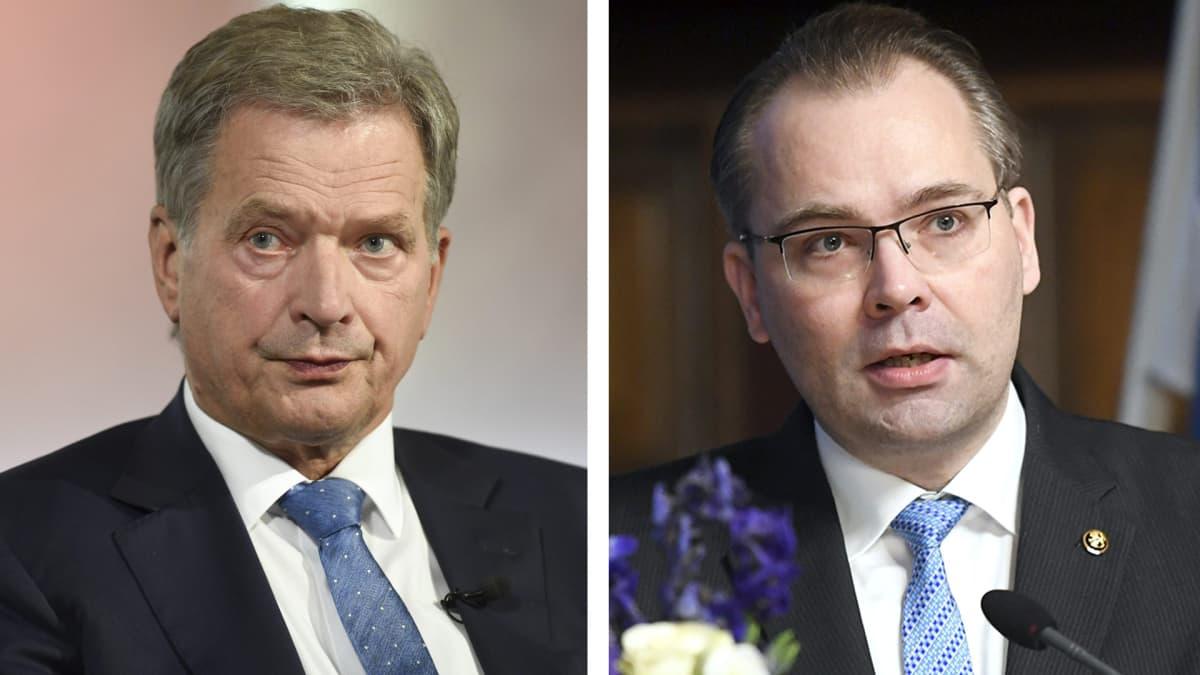 Sauli Niinistö ja Jussi Niinistö
