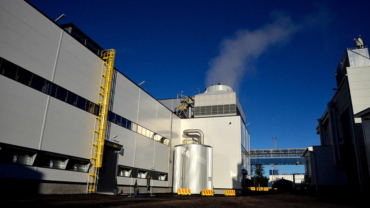 Kemira Chemicals Joutsenon tehdas.