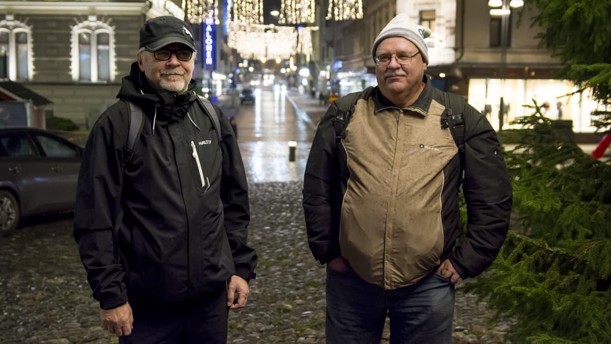 Reidari ja Arto Hell