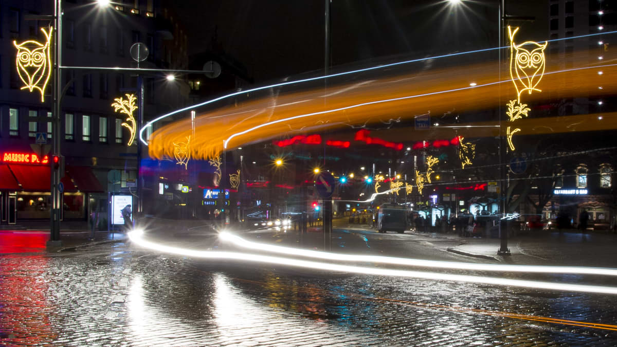 Valoteoksia Hatanpään valtatiellä