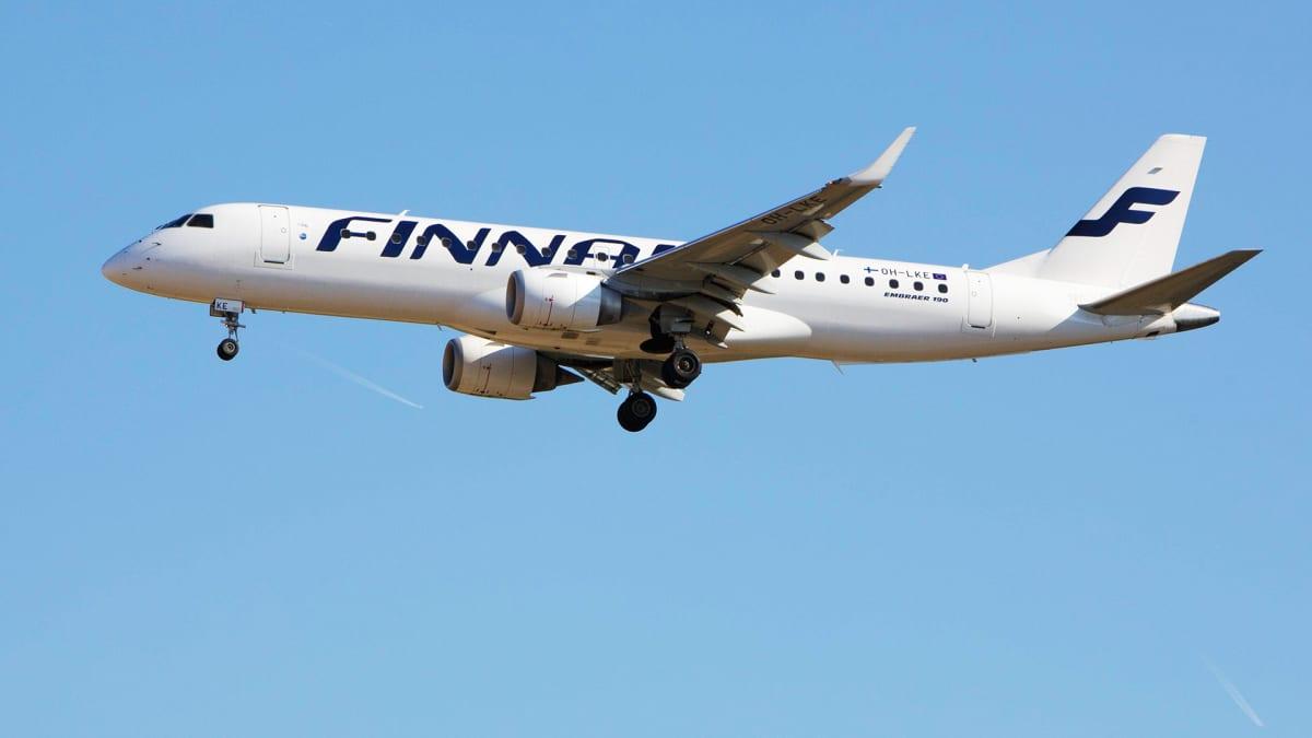 Finnairin kone Embraer 190 OH-LKE
