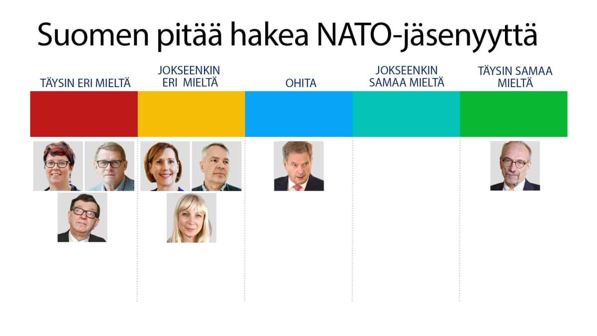 Suomen pitää hakea NATO-jäsenyyttä kysely