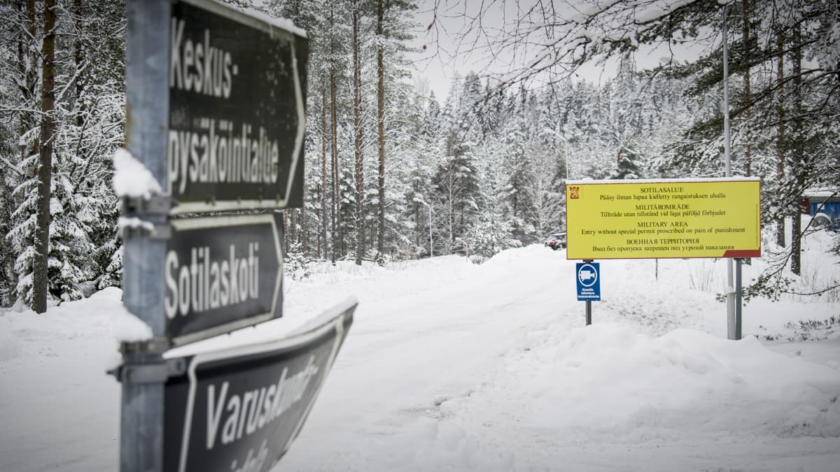 Tikkakosken sotilasalue.